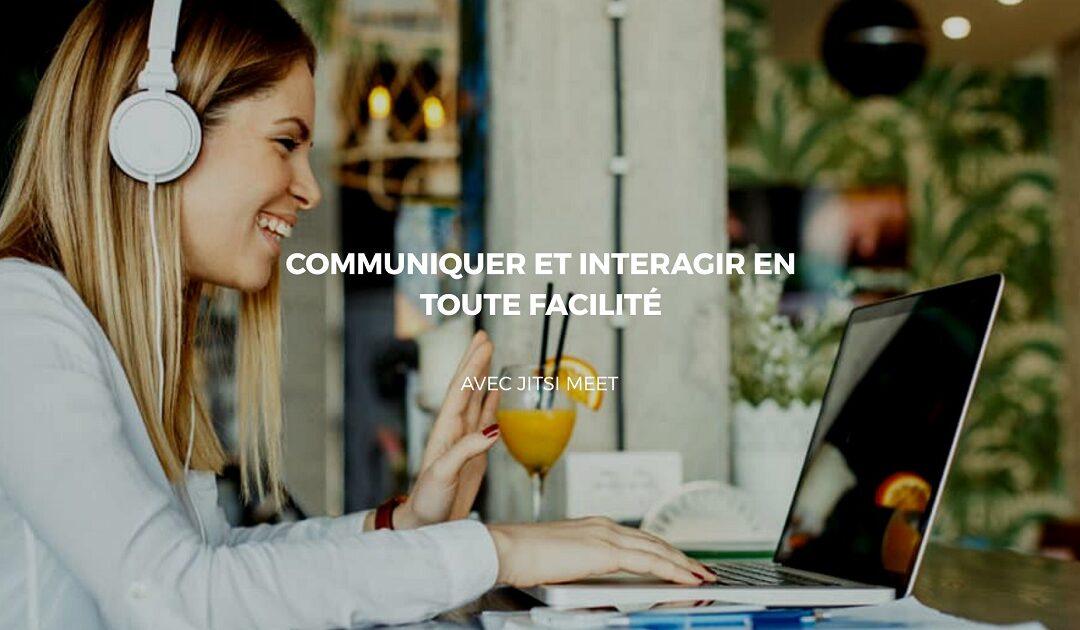 Maitriser les fonctionnalités de Jitsi Meet pour interagir sur le Web