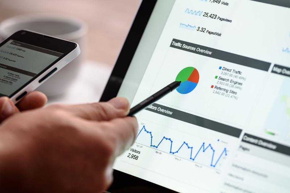 graphe google analytics