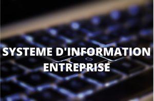 système d'information entreprise